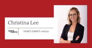 Christina Lee, franchisée du Sports Experts Amqui